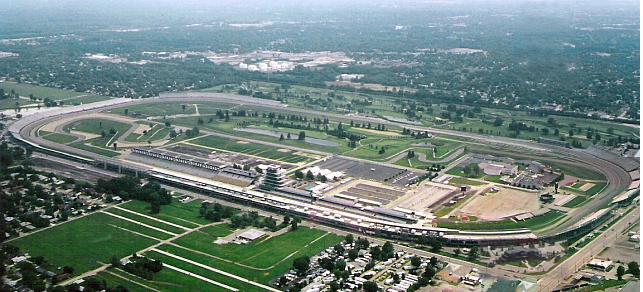 """Indianapolis Motor Speedway"" by Rick Dikeman"