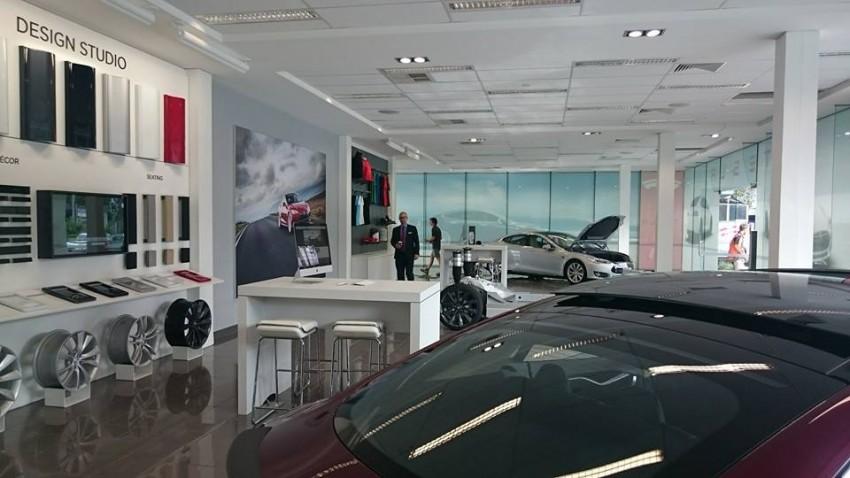 Tesla showroom brisbane