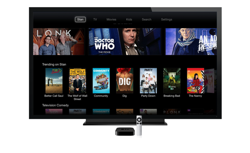 Stan-on-Apple-TV-Home