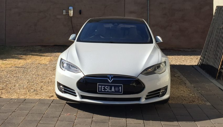 Simon Hackett owns two Model S in South Australia Pic: Simons website)