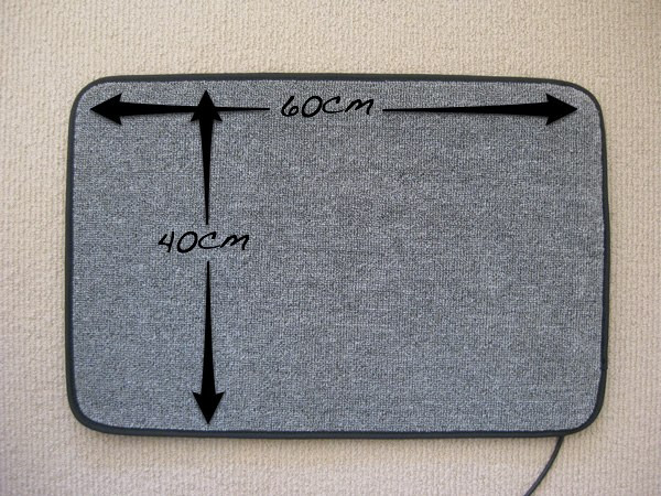 foot_mat_heater_dimensions